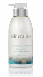Dead Sea, BODY & HAND Lotion, Minerline