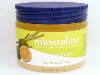 Dead Sea, Body Peeling - LemonGrass