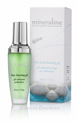 Dead Sea, Deep CLEANSING Gel ,  Mineraline