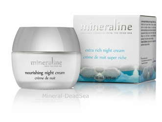 Dead Sea, Nourishing NIGHT Cream (4-Pack)
