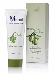 Dead Sea, OLIVE - Body Cream , Mineraline