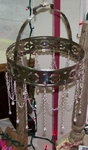 Silver Chain Decorative Chandelier