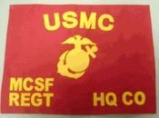 Marine Corps Regulation Size Guidons