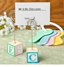 Adorable Alphabet Block Placecard Holder