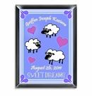 Boy Personalized Counting Sheep Room Sign