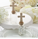 Candy Jar with Ivory Cross Decoration