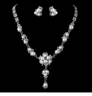 Chic Vintage Pearl Necklace & Earring Set