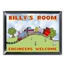 Choo Choo Personalized Room Sign
