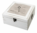 Christian Antique White Card Box