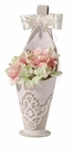 Country Lace Flower Basket