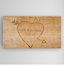 Cupid's Arrow Personalized Canvas