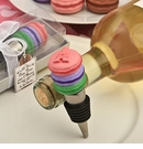 Deliciously Different Macaron Design Wine Bottle Stopper