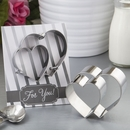 Double Heart Cookie Cutter Favor