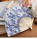 Elegant French Country Design Fan Favor