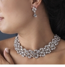Elegant Vintage Crystal Jewelry Set