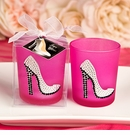 Girly High Heel Shoe Votive Candle Holder
