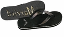 Grooms Just Married Sandals