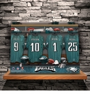 NFL Locker Room Canvas Print