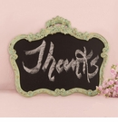 Ornate Vintage Framed Chalkboard