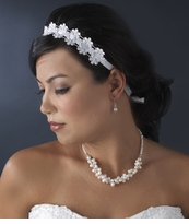 Ribbon Bridal Headbands