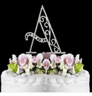 Romanesque Swarovski Crystal Wedding Cake Topper