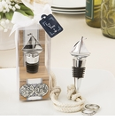 Ship Themed Silver Bottle Stopper