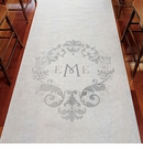Simplicity Monogram Wedding Runner