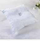 White Pearl Ring Pillow