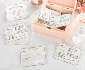 Wishes Cards Tan - Set of 48