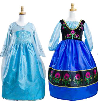 dress up anna and elsa
