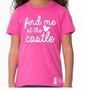 Find Me At the Castle Girls Tee