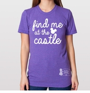 Find Me At the Castle Women's Tee