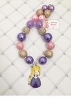 Rapunzel Storybook Bling Necklace