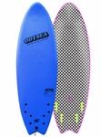 "Catch Surf - Skipper Quad 6'0"" - Soft Top Surfboard"