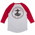 Dark Seas - Tideless Raglan - Mens T Shirt