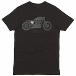 Deus Ex Machina - Bald Terrier V-Twin - Mens T Shirt