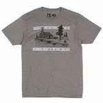 Hippy Tree - Cabin Tee - Mens T Shirt