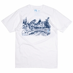 Hippy Tree - Trout Tee - Mens T Shirt
