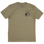 Plate Lunch - Crest - Mens T Shirt