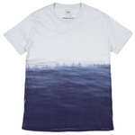 Quality Peoples - Ocean Dip Dye - Mens T Shirt