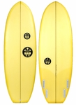 "Regular Surfboards - El Burro Quad 5'8"" - Surfboard"