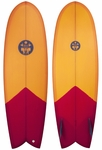"Regular Surfboards - Roundnose Fish 5'8"" - Surfboard"