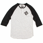 Thalia Surf - Fins 3/4 Raglan - Men T Shirt