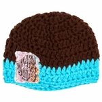 Thalia Surf - Old Times Patch - Hand Knitted Beanie
