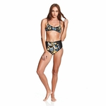The Critical Slide Society - Crossed Top - Women's Bikini Top