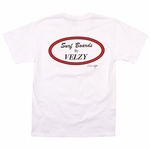 Velzy Surfboards - Oval T - Mens T Shirt