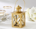 Classic Gold Lantern Favors for Wedding