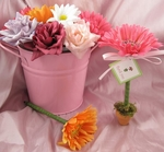 Flower Pot Pens Gerbera Daisy Favors