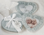 Frosted Glass Baby Shower Favors