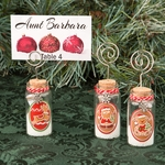 Gingerbread Themed Holiday Wishing Jar with Memo Holder